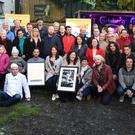 Local residents and committee members at the launch of K-Fest in O'Shea's Bar and Beer Garden, Killorglin on Friday. Photo by Michelle Cooper Galvin