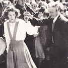 Jerry Molyneaux dancing with Mountcoal's Sheila Bowler (neé Lyons)