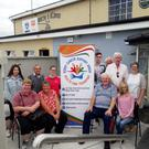 Pictured at the launch of the table quiz night in Abbeydorney Sports Complex on Monday were (back row from left): Tara Carroll, Michael Brosnan, Sinead O'Sullivan, Alban Stack, Donie O'Sullivan, Gerry Doyle,and Breda Dyland. Front row: Bernadette O'Sullivan, Geraldine O'Sullivan, Christy O'Sullivan, and Christina Stack