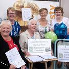 Members of Cahersiveen ICA raising funds for a planned outdoor gym in the town. Front row (from left): Maureen Griffin and Annette Fitzpatrick. Back row: Joan Griffin, Mary O'Connor, Betty Kelly and Anne O'Sullivan