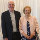 Fr Martin Ashe with his mother