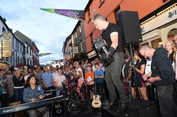 Liam O'Connor does his thing in Killarney