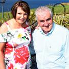 Danny Tim and his wife, Sheila O'Sullivan, at home in Gleesk, Kells. Photo by Michelle Cooper Galvin