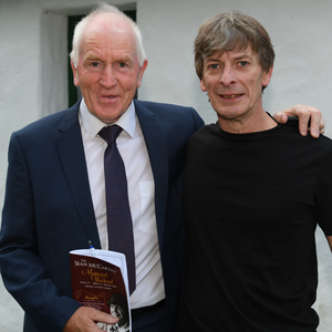 Jimmy Deenihan with Seán Keane at the Sean McCarthy Festival in Finuge