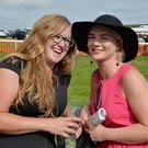 Emily Rose and Claire McDonnell at 'ladies day'