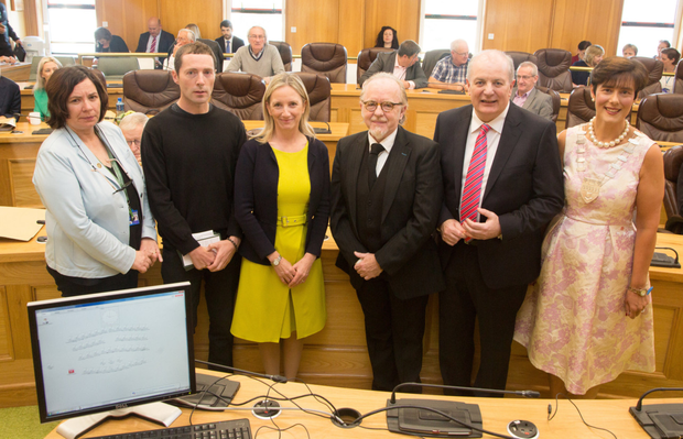 Making their pitches: Presidential candidates addressed Kerry County Council on Monday