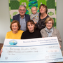 A cheque of €15,126 was presented to Recovery Haven on Thursday; the money was the proceeds from the annual Jamie Wrenn/Mike Deane Memorial Walk. Front from left: Marian Barnes (Recovery Haven), Sandra Finn (Jamie Wrenn Walk) and Maureen O'Brien (Recovery Haven). Back l-r: Dermot Crowley (RecoveryHaven), Mary Jo Lynch (Jamie Wrenn Walk) and Rory O'Mahony