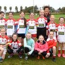 Rathmore Girls team who participated in the Underage Football Blitz in aid of St Francis Special School Beaufort at the Kerry GAA Centre of Excellence, Curran's on Saturday