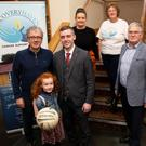 Launching Recovery Haven's upcoming 'An Evening Of Sporting Greats' at Ballyroe Heights Hotel on Tuesday evening were Billy Keane (MC), Jonathan Collins (GM Ballyroe Heights Hotel), Marisa Reidy, Philomena Stack, and Dermot Crowley (Recovery Haven), and Hannah O'Connell (front). The event will take place on Friday, November 30