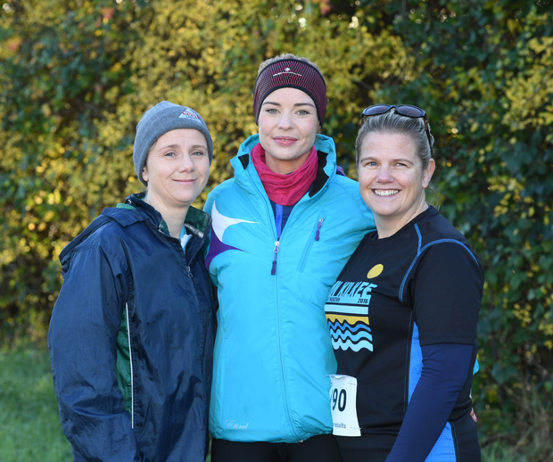 Pictured at the Listowel 10k/half-marathon on Saturday were were Sheila Lee, Margaret Buckley and Deirdre Sparling from Abbeyfeale