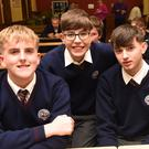 Jack Linehan, Cathal Griffin, Matt Fleming and Cathal Higgins, St Brendan's College. Photo by Michelle Cooper Galvin