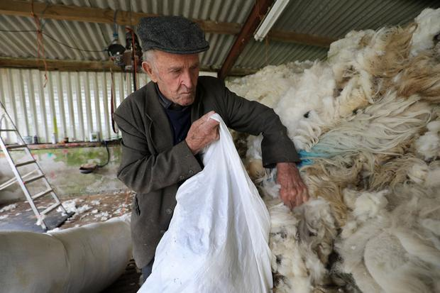Eugene O'Sullivan, aged 93 years, is Ireland's oldest drover and works at Kenmare Mart. He was allegedly conned out of €70,000, a court heard this week. Photo by Valerie O'Sullivan
