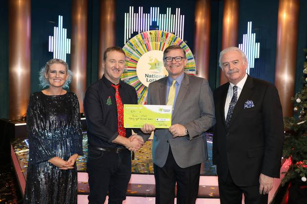 David Morris from Cromane won €28,000 on the gameshow for his sister, Anne