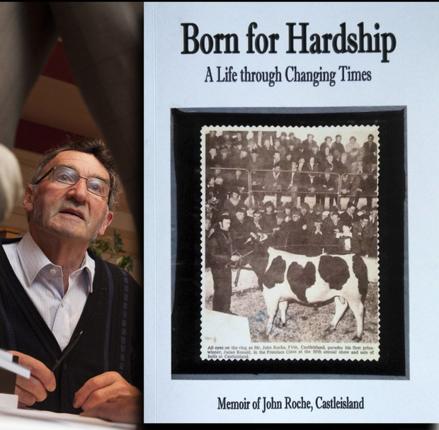 Johnnie Roche returns for another launch and book signing session to the River Island Hotel with his latest book, 'Born for Hardship', on Saturday night at 8pm. Photo by John Walsh