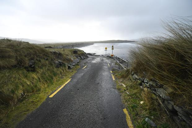 White Strand near Cahersiveen where 'Baby John' was found in 1984