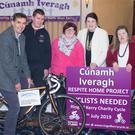 Cúnamh Iveragh launched its Ring of Kerry Charity Cycle involvement