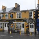 The Exchange Inn in Ballybunion which was devastated by fire in the early hours of last Saturday morning. Photo by Domnick Walsh