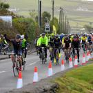 The inaugural 'Ride Dingle' cycle event gets underway at 8am on Sunday after being postponed from the previous day because of Storm Hannah. Photo by Declan Malone