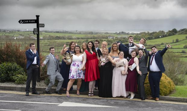 Students from ITT pictured enjoying their recent college ball at the Ballyroe Heights Hotel. All photos by Domnick Walsh