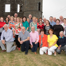 Over one hundred years since their antecedents left North Kerry and the Argentinian Cantillons were home to meet their long-lost relatives as part of the clan's big reunion at Ballyheigue Castle. Photo by Joe Hanley
