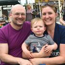 Tristian, Felix and Carol Palmer enjoying the K Fest in Killorglin on Saturday. Photo by Michelle Cooper Galvin
