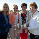 Maureen Griffin, Rita and Eileen Stack and Catherine Wall who supported the Recovery Haven 'Celebration of Light' event on Ballyheigue beach on Monday night
