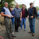 Ger 'Jet' McCarthy, Bridget, Al and Seán Goodwin and Johnny McKenna at the fair. Photo by Declan Malone