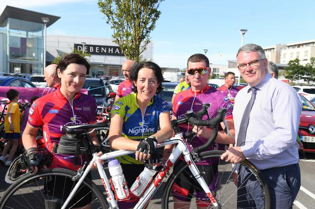 Manor West will welcome in over 100 cyclists from the fundraising 'Tour De Munster' cycle this coming Friday, August 9, this is the third year that Manor West will have hosted the tour in Tralee