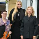 Lucy White, Maria O'Connor, Dovile Baltoniene and Tatjana Bernotaitiene who are pooling together their years of teaching experience and setting up the brand new Sempre Music Academy. Photo by Fergus Dennehy