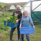 Husband and wife, Thomas and Claire O'Connor who run the 'Manna Organic Store' in Tralee and who run their 25 acre farm at Gleann na nGealt valley near Camp are nominated for a 'Farming for Nature' award