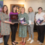 Launching the new Listowel website at the Kerry Writers' Museum on Tuesday were Orla Fitzmaurice (web developer), Meave Queally (branding expert), Rose Wall (Chairperson Listowel Business & Community Alliance), Cora O'Brien (LB & CA), Cara Trant (Kerry Writers' Museum manager) and Andy Smith (Listowel MD Officer). Photo by Joe Hanley