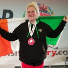 Tralee's Rachel O'Connor won a bronze medal at her first ever powerlifting championships in Canada