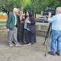 Filming for Athea's star turn on RTÉ's 'Nationwide' took place in August
