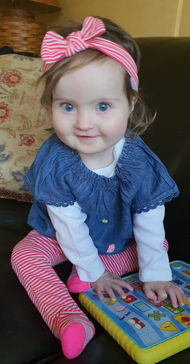 20-month-old Lily Ellen Daly who passed away last Friday following a brave battle with a rare heart condition