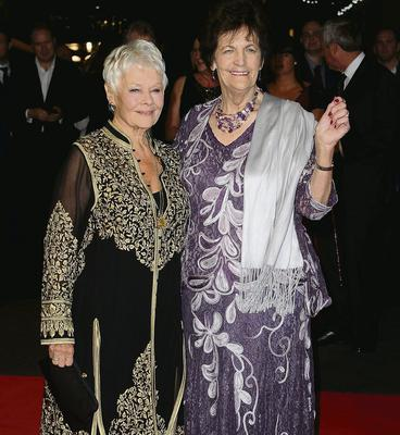 Actress Dame Judi Dench and Philomena Lee attend the 'Philomena' American Express Gala screening during the 57th BFI London Film Festival last October. Photo: Getty