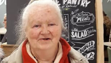 The late Christina O'Brien, one of Tralee's great characters