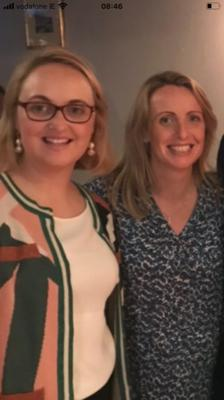 Mary Brick with her sister, Olive, who have each walked 100km during the month of June in aid of the Kerry Hospice Foundation