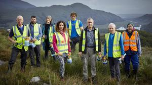 A few volunteers from the Killarney Mountain Meitheal out on location with their hatchets and spray cans. Hatchets & Hope is a short documentary film that introduces the Killarney Mountain Meitheal, an intergenerational group of volunteers in south Kerry.