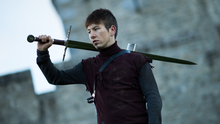 A high-res image from the set of Killarney photographer and filmmaker Lucas Machowski's latest short film, which is set at Ross Castle and the surrounding forest area and which stars the one and only Barry Keoghan
