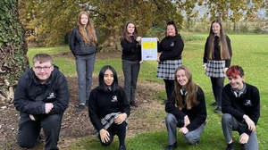 The Connected Four students from Killarney Community College who have been shortlisted for two national awards