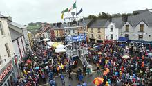 Scenes from last year's Puck Fair