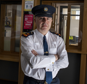 Tralee Superintendent Dan Keane who is retiring from the force in September after almost 40 years as a garda. Photo by Domnick Walsh