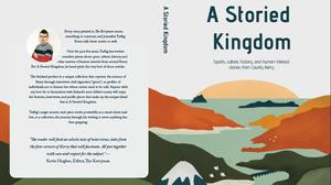 The cover of Tadhg Evans' upcoming book, 'A Storied Kingdom'. By Emma Prendiville, Blank State Ireland.