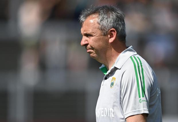 Peter Keane and his management team haven't been thanked publicly for their efforts by the County Board Photo by Piaras Ó Mídheach / Sportsfile