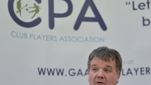 Declan Brennan, Secretary CPA, at the official launch of the Club Players Association. Photo: Sportsfile