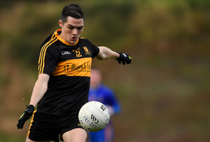 Brian Looney of Dr Crokes during the AIB Munster GAA Football Senior Club Championship semi-final match between Dr Crokes and St Finbarr's at Dr Crokes GAA, in Killarney, Co. Kerry