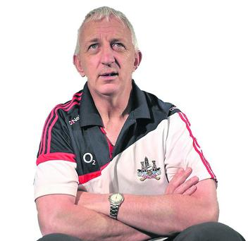 31 May 2012; Cork manager Conor Counihan during a press evening ahead of their Munster GAA Football Senior Championship Semi-Final game against Kerry on Sunday June 10th. Cork Football Press Evening, Pairc Ui Rinn, Cork. Picture credit: Diarmuid Greene / SPORTSFILE