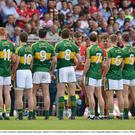 The Kerry and Cork greet eachother pre-match