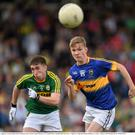 Kerry defender Darren Brosnan, in action against Brendan Martin in the Munster Final, put in one of Kerry's best performances that day and much will be expected of the Gneeveguilla club man against Sligo in Monday's All-Ireland MFC quarter final in Tullamore