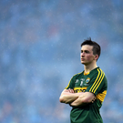 A dejected Paul Murphy at the full-time whistle